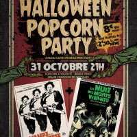 Popcorn S04E02 : Halloween Popcorn Party – Massacre à la tronçonneuse / La nuit des morts-vivants