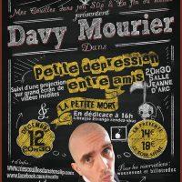 Davy Mourier : Petite dépression entre amis … à Saint Etienne